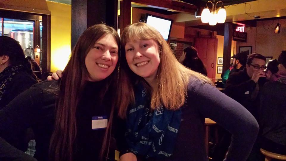 Founding Members of the MSC Jenna Lapointe (left) and Theresa Bailey (right).